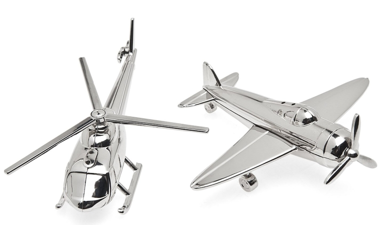 AirplaneChopper Salt and Pepper Set