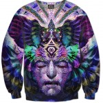 All Over Print Crewneck Sweatshirt