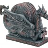 Dragon CupPlate Coasters Collectible Home Decoration