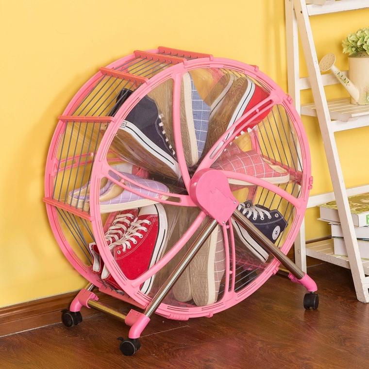 Ferris Wheel Shoe Rack