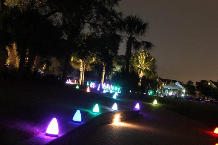 Glow Party Light Patio and Pathways