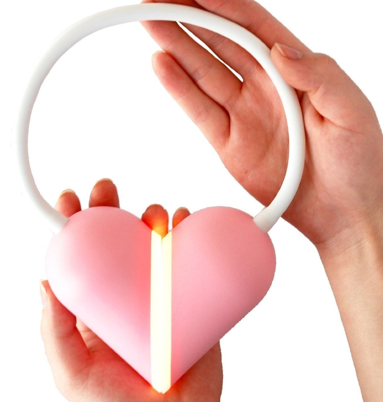 Heart Light LED Book Reading Light