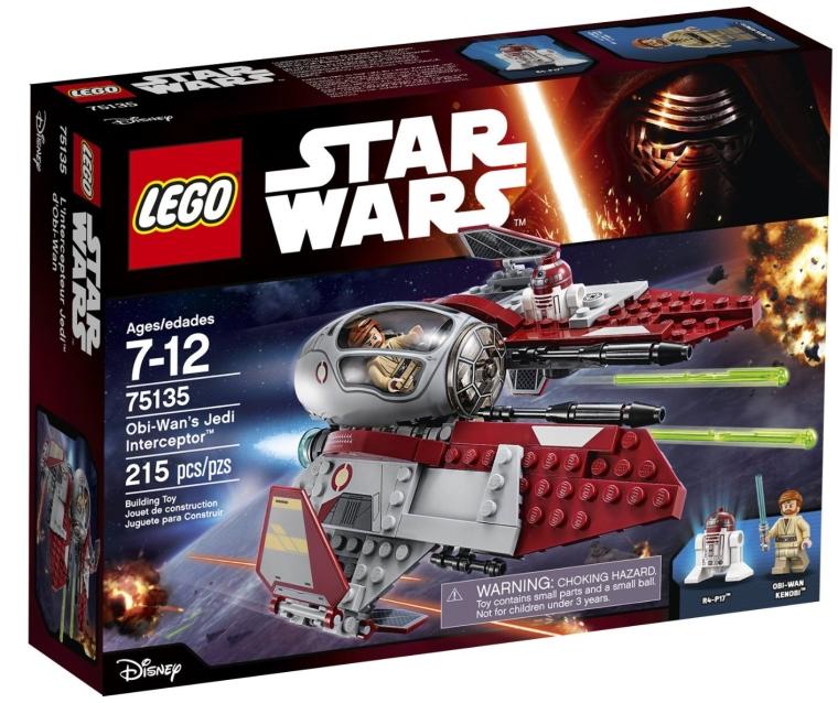 LEGO Star Wars Obi-Wan's Jedi Interceptor