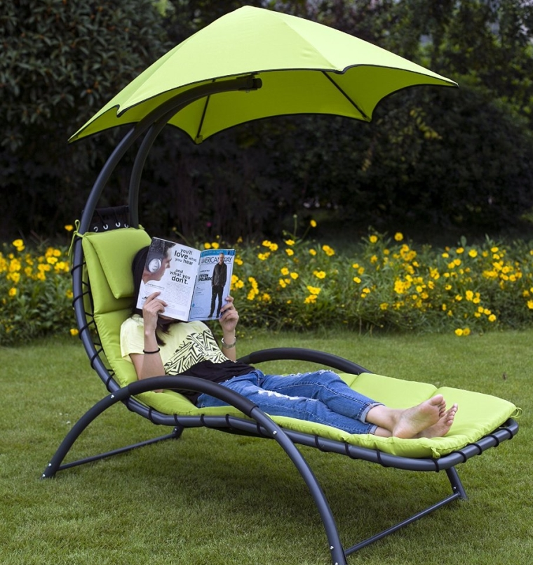 Legs Hammock Large 6 Point Umbrella Dream Chair Chaise Lounge