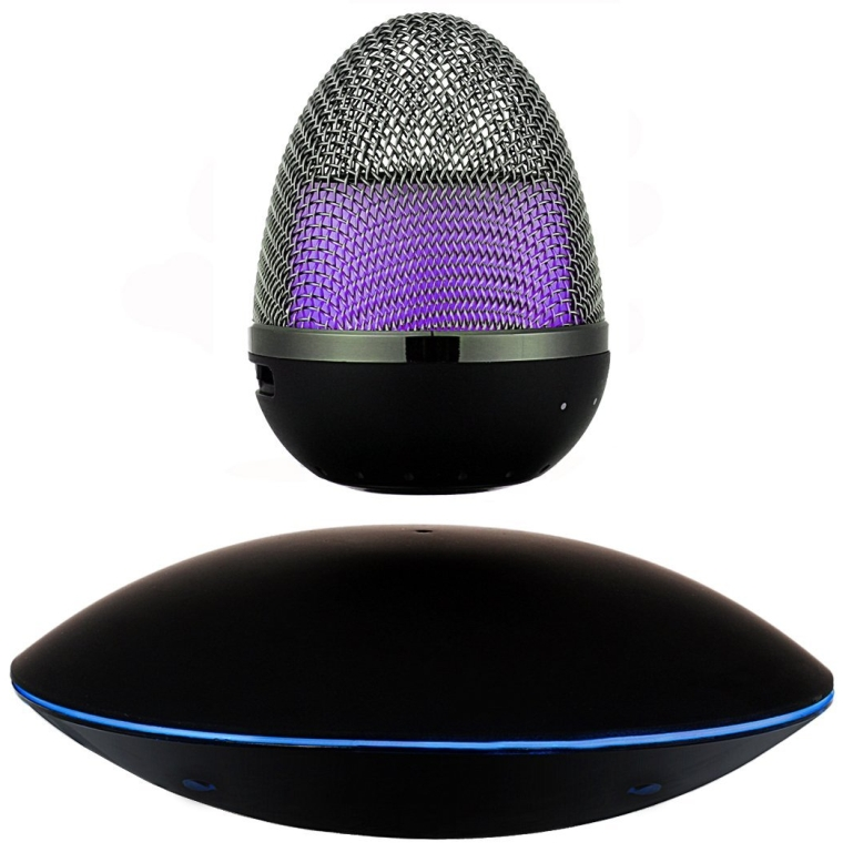 Portable Wireless Bluetooth Floating Speaker Multi-color LED Levitating Bluetooth Speakers