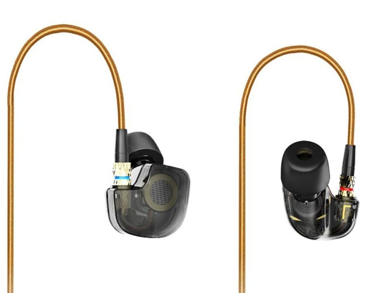 Sungluber(TM) Modern Audiophile Hi-Fi Earbuds in Ear