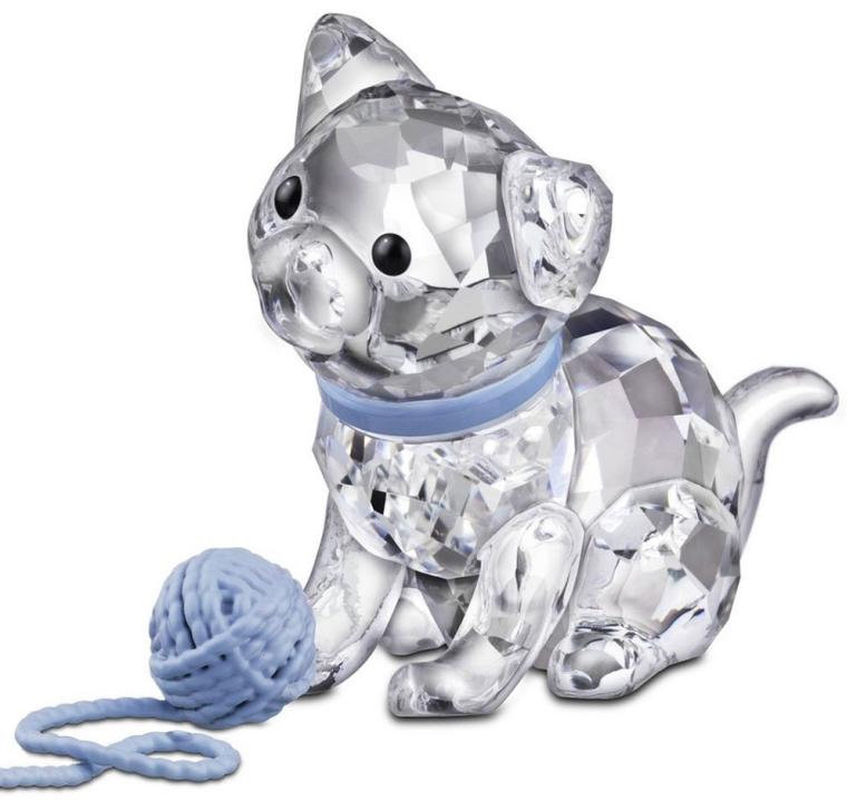 Swarovski Kitten Figurine