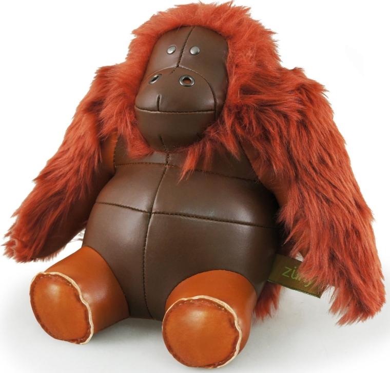 Zuny Orangutan Animal Bookend