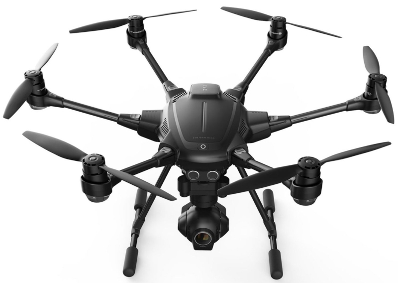 4k Collision Avoidance Hexacopter