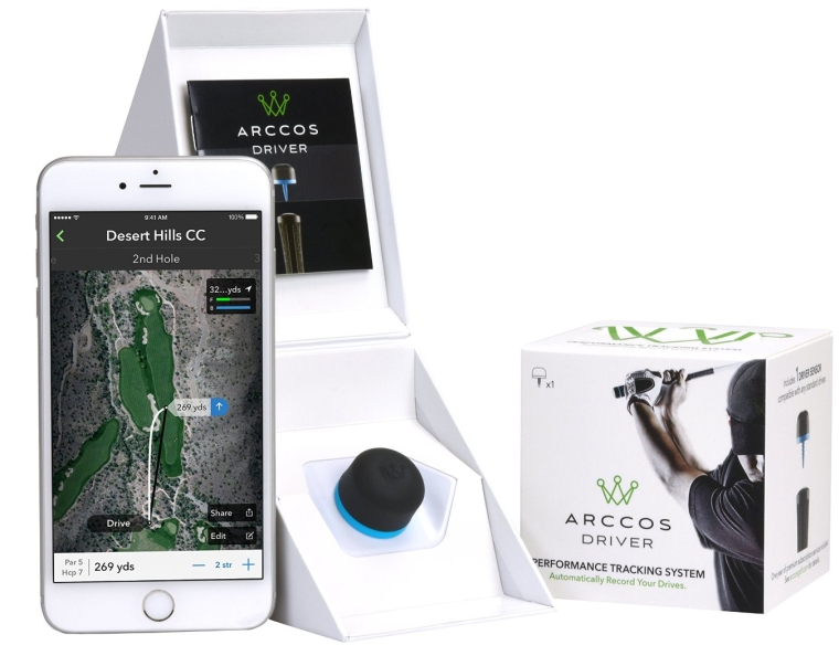 Arccos Golf Driver GPS SensorRange Finder
