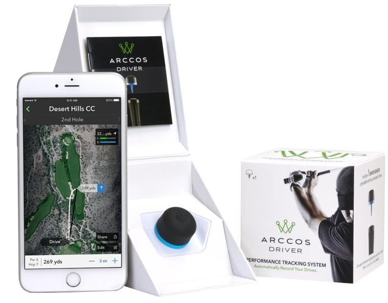 Arccos Golf Driver GPS SensorRange Finder