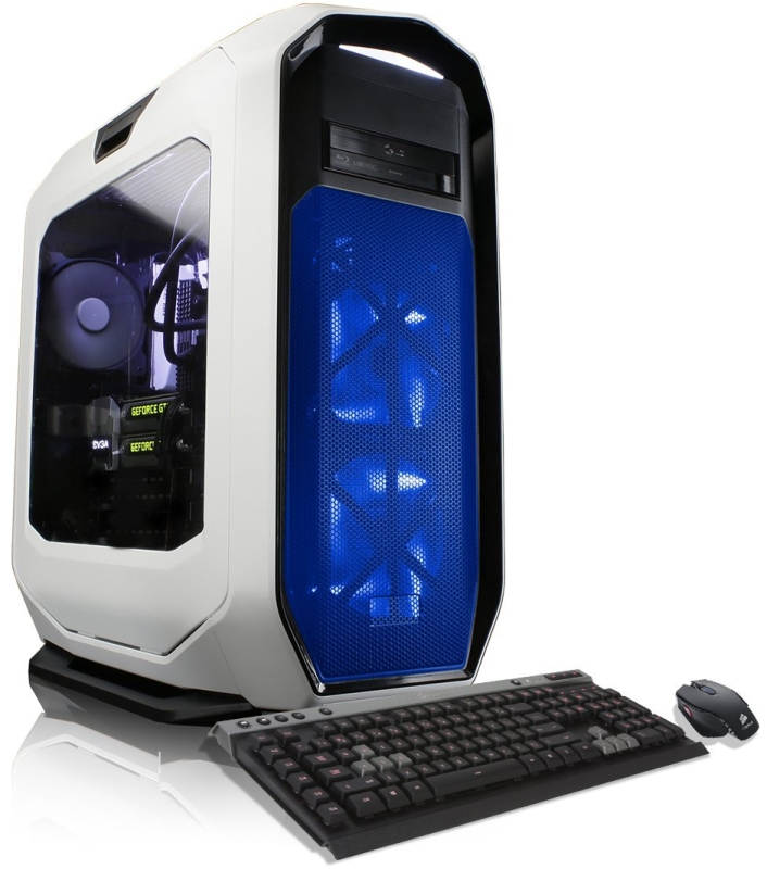 CybertronPC Thallium Z170 White Gamer -Intel i7-6700K 4GHz, 16GB DDR4, 2x NVIDIA GTX980 Ti, Microsoft Windows 10
