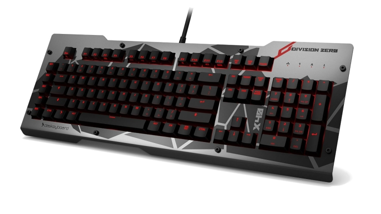 Das Keyboard Division Zero X40 Pro Gaming Mechanical Keyboard