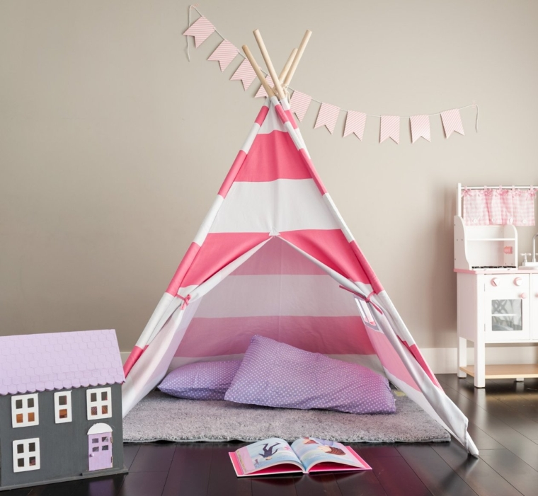 Deluxe Canvas Teepee Tent