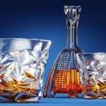 Diamond-Cut Whiskey Glasses or Scotch Glasses