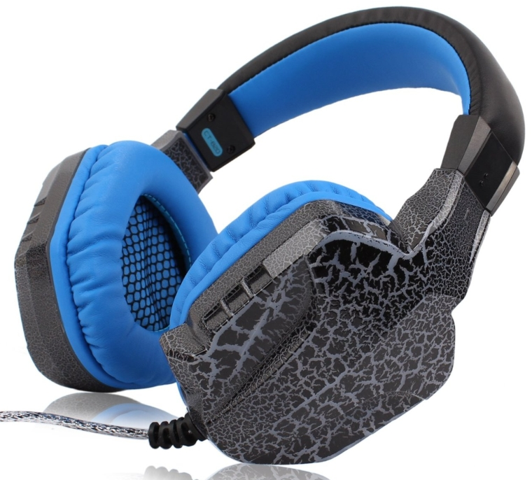 Dragon Crack Over-Ear Wired Stereo Gaming Headset