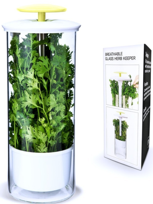 Fresh Herb Keeper and Herb Storage Container