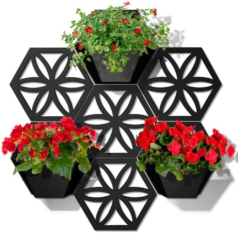 Hex Wall Planter Kit
