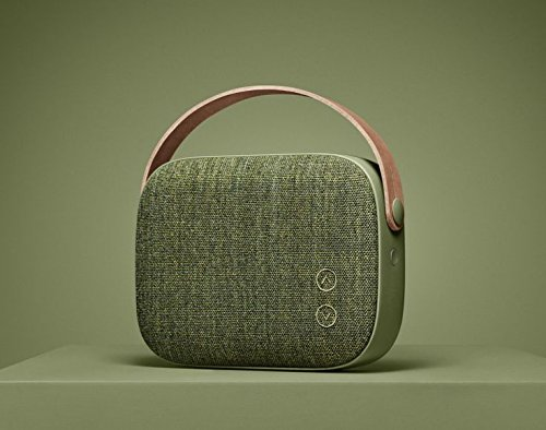 Hi-Resolution Bluetooth 4.0 Wireless Portable Speaker - Willow Green