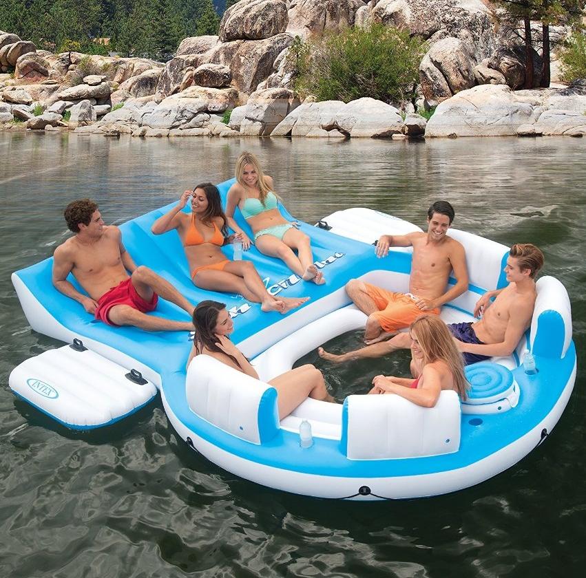 IslandLounge 6-Person Raft
