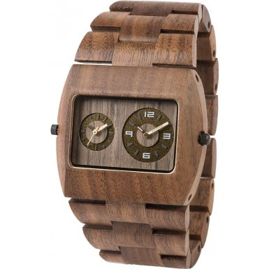 Jupiter Nut Wood Bracelet Watch