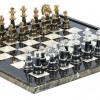 Luxury Chess Set 24K GoldSilver Plated
