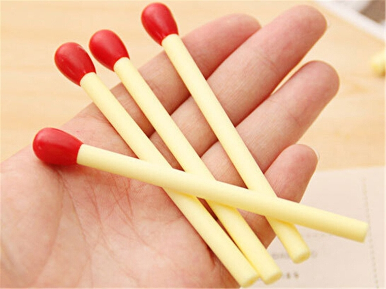 Matchstick Shaped Pen Ball Point Pen
