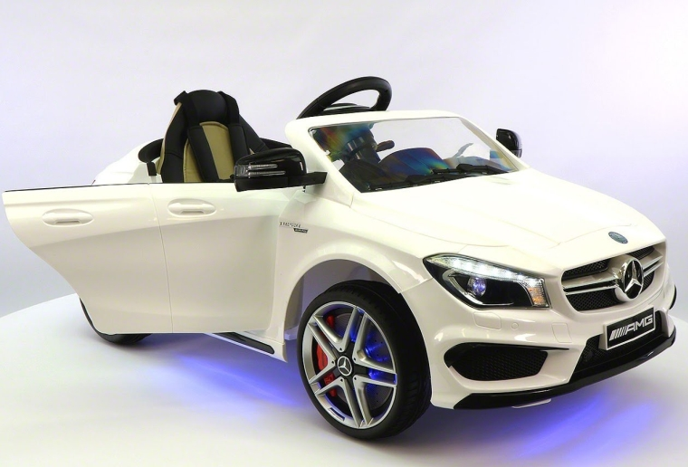 Mercedes CLA 45 AMG 12V Power Wheels Ride on Toy wRemote control