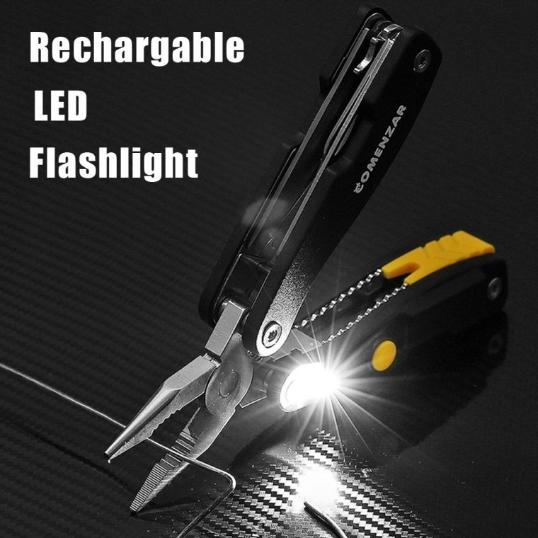 Multitool Pocket Knife Multi Portable Plier Compact Outdoor and Indoor pocket tool 13-in-1