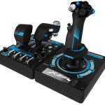 Saitek Pro X-56 Rhino H.O.T.A.S. Video Game Flight Controller for PC