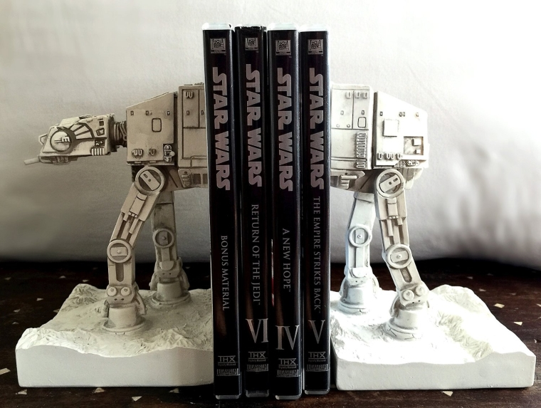 Star Wars AT-AT Mini Bookends Statue