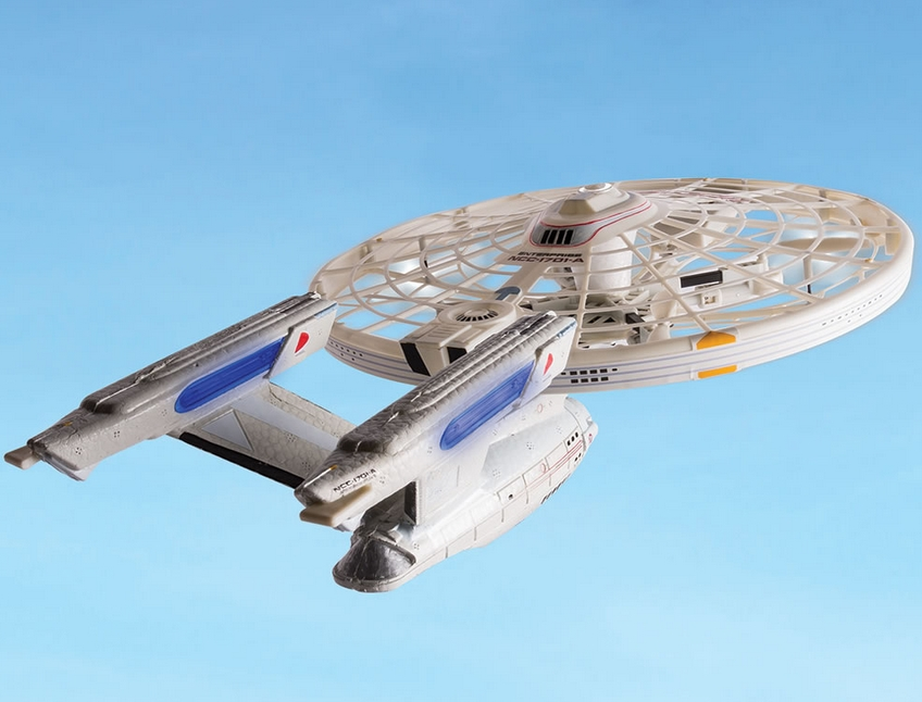 The U.S.S. Enterprise Quadcopter
