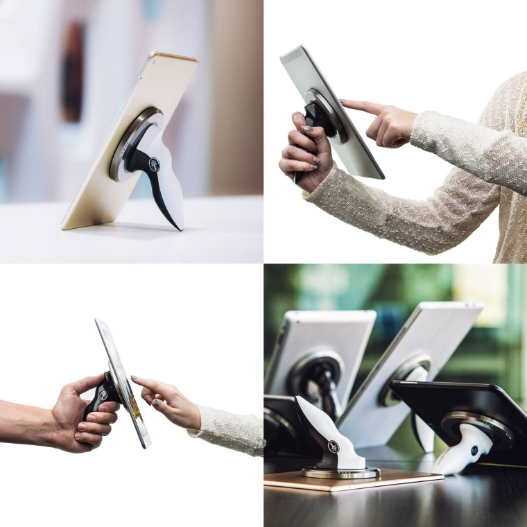iPad Tablet Adjustable Stand and Handle Kit