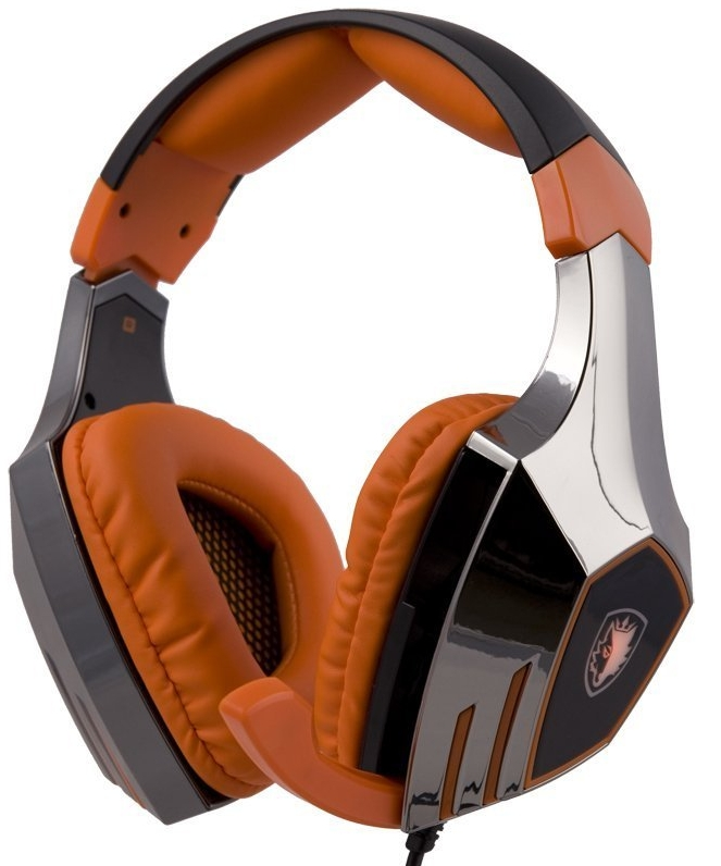 7.1 Surround Sound Stereo USB Gaming Headset Headphones