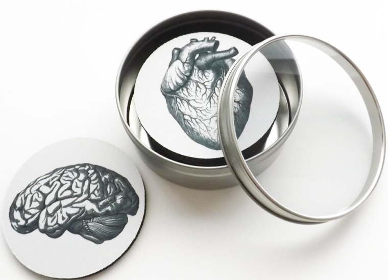 Anatomy Coasters Gift Set