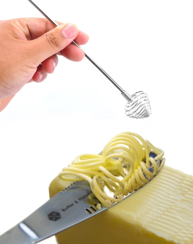 Butter Knife and Honey Dipper