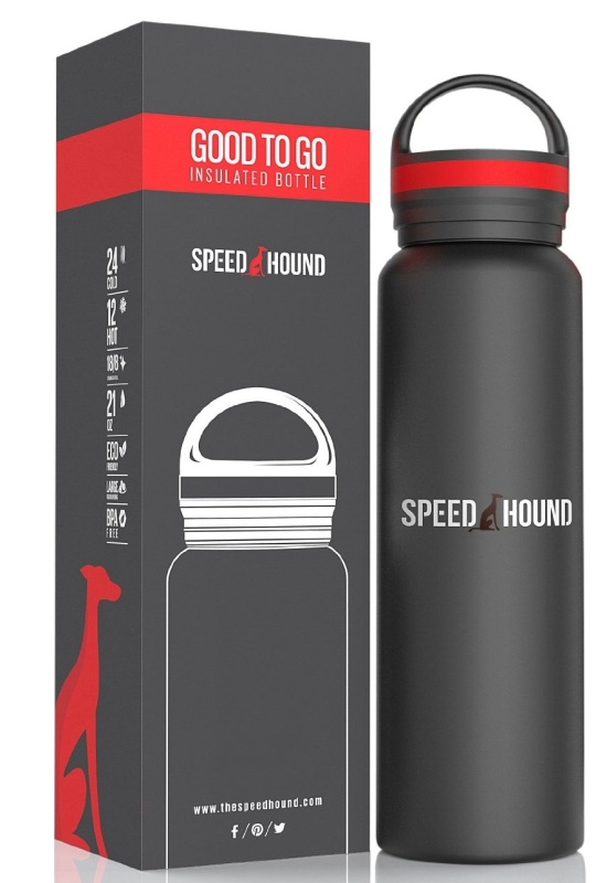 Durable Double Wall Insulated Hydro Thermos Bottle Stainless Steel