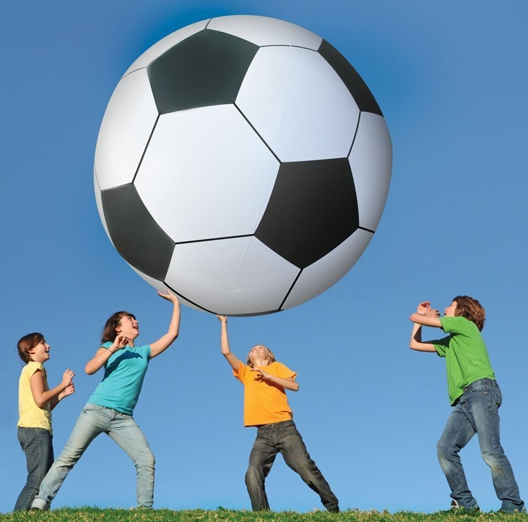 Foot Tall Soccer Ball