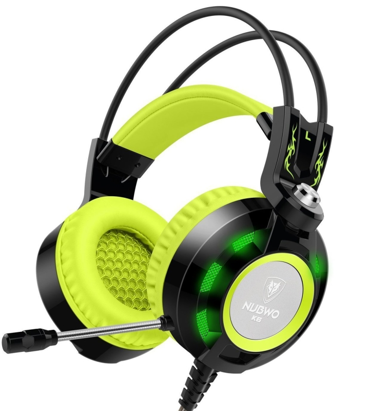 Gaming Headset with Microphone, Comfortable Headphones for Laptop PC Computer