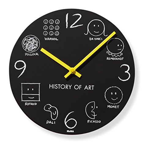 History of Art Wall Clock 10