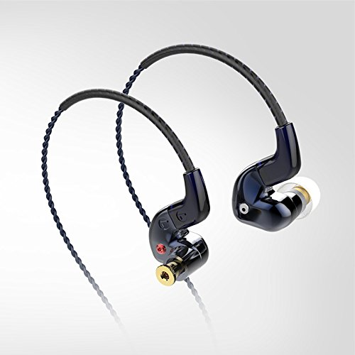 Hybrid Dual Balanced Armature Dynamic Earphones