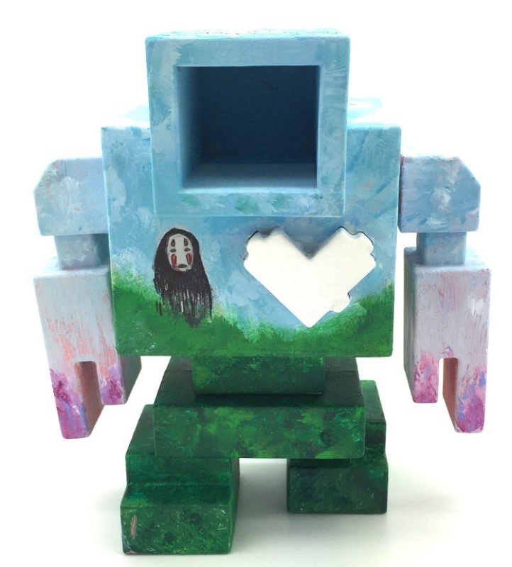 Lovebot DIY Robot Vinyl Art Toy