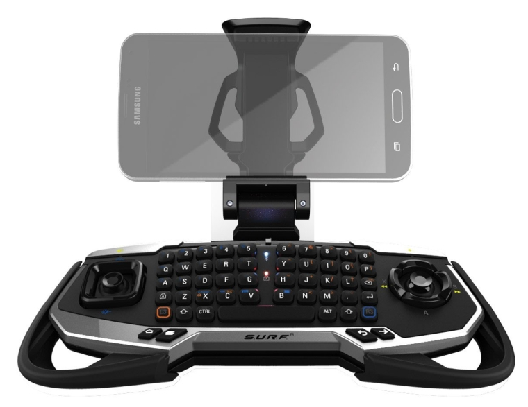 Mad Catz S.U.R.F.R Wireless Media and Game Controller - Designed for Samsung - Android