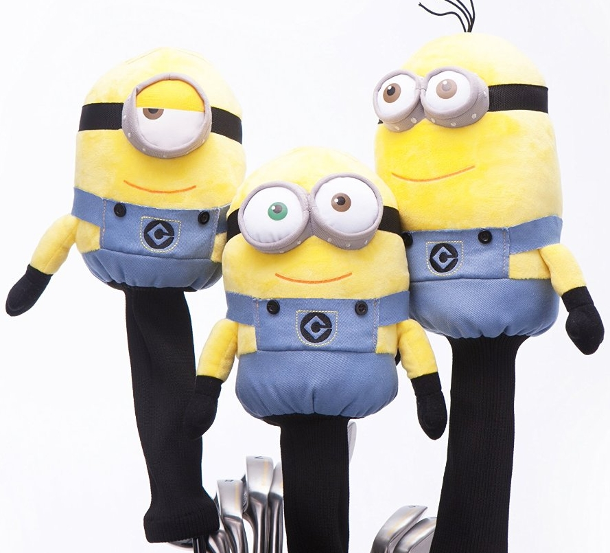 Minions Despicable Me Golf Headcover 7 Gadgets