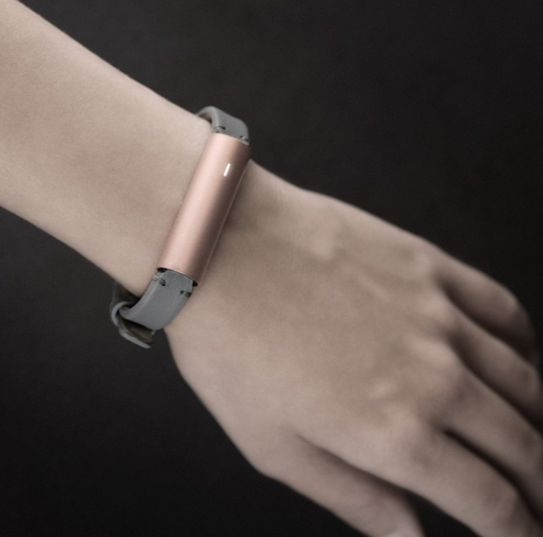 Misfit Wearables Fitness & Sleep Tracker with Leather Band
