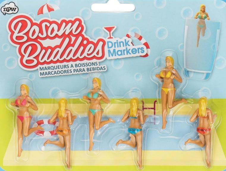 NPW Bosom Buddies Drink Markers