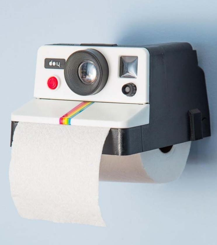 Retro Camera Toilet Paper Roll Holder