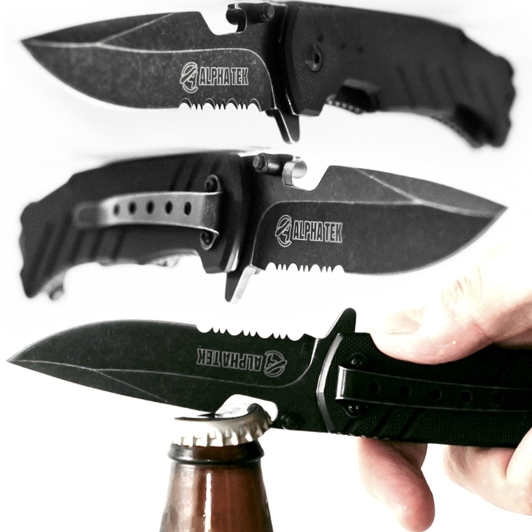 Spring Assisted Knife