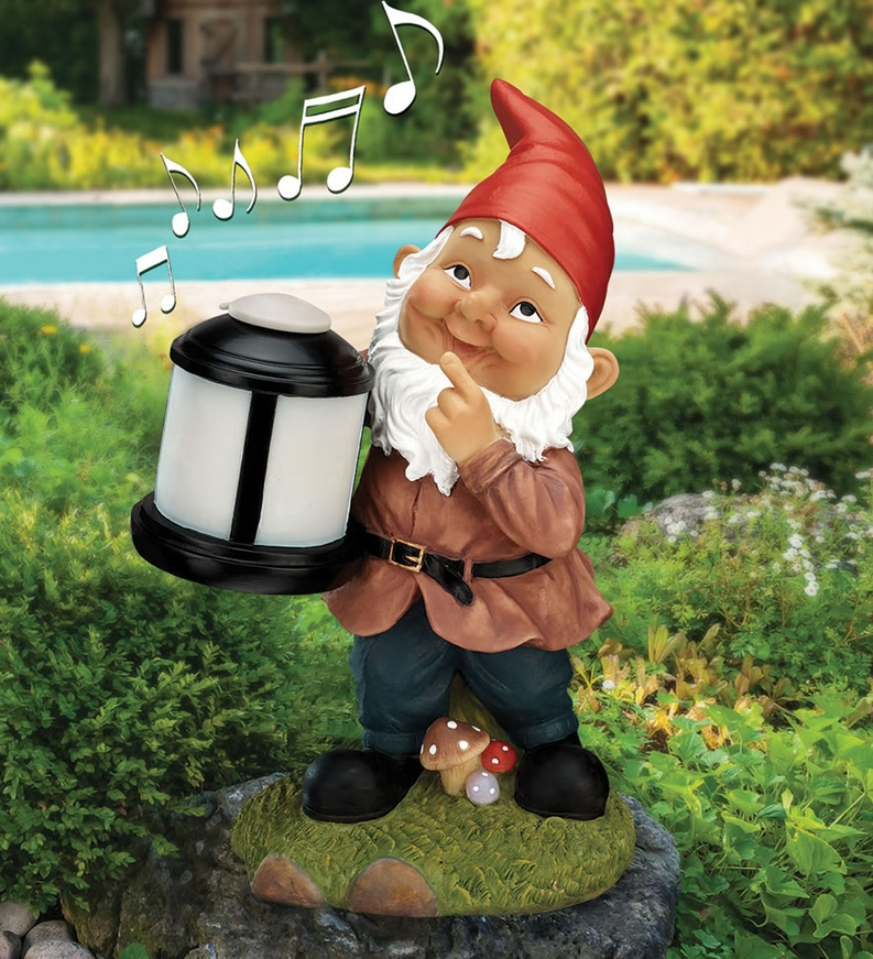 The Wireless Garden Gnome Speaker