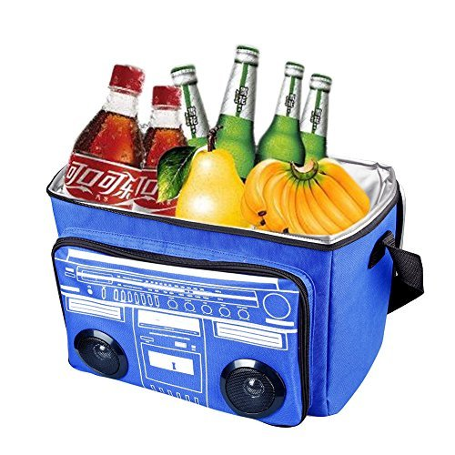 Waterproof Picnic Cooler Bag Beach Bag Insulated Cooler Bag Bluetooth Speaker